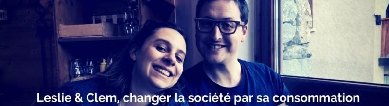 Leslie et Clement tentent de changer la société par leur consommation