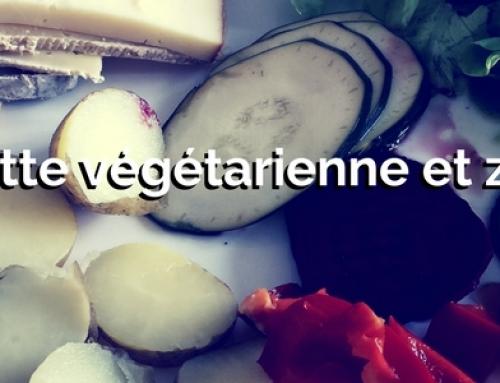 Soirée raclette végétarienne et zéro déchet