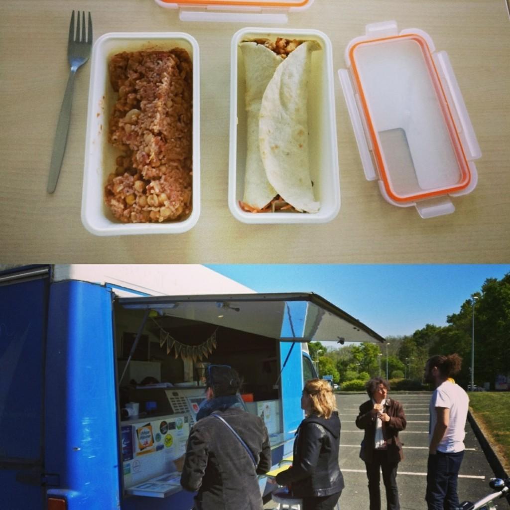 Les petits plats d'Anna un food truck vegan et zéro déchet