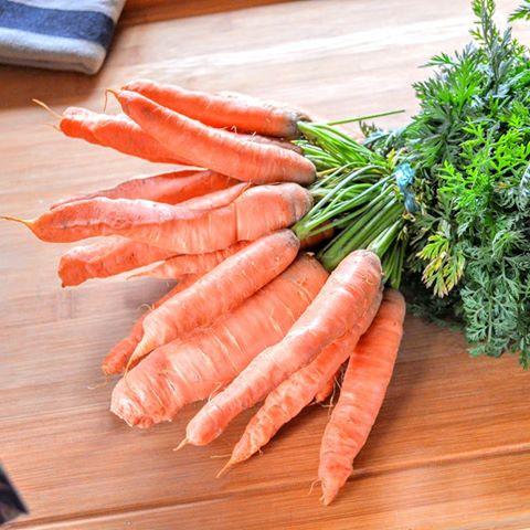 des carottes fraîches Alancienne