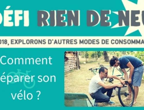 Comment réparer son vélo sans acheter des pièces neuves ? #RienDeNeuf