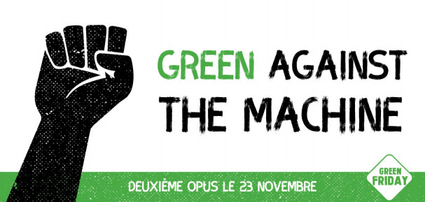 Le Green Friday dès le 23 novembre