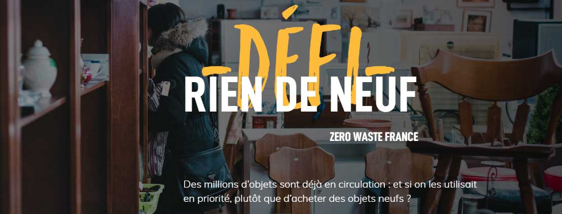 Défi Rien De Neuf 2019
